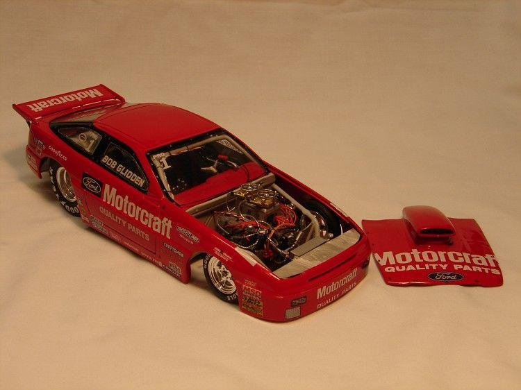 Ford Probe Plastic Model Cars Drag Racer Car Model