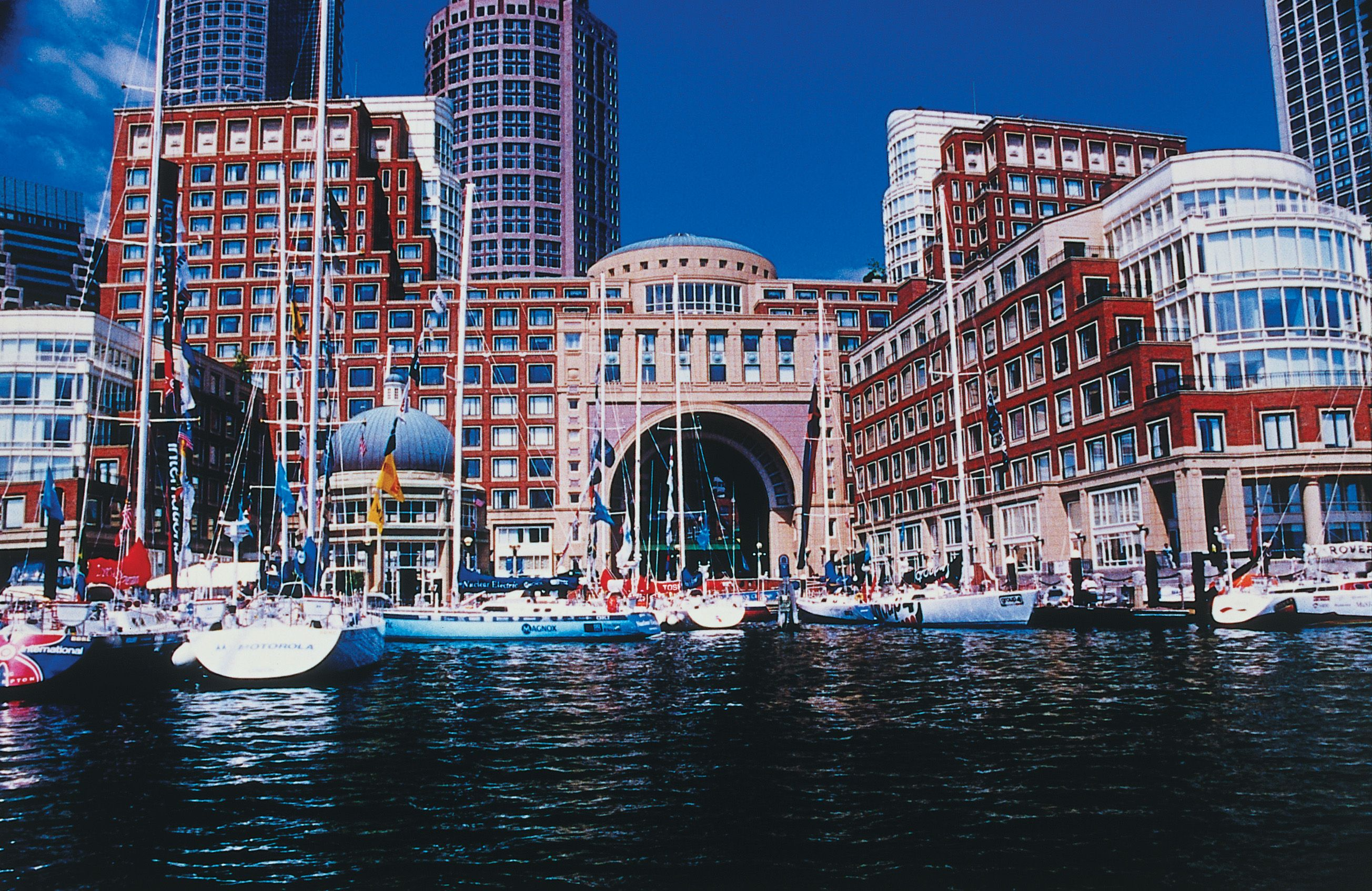 Boston Harbor Hotel Ma The Best Way To Arrive At This From Airport Is Via Water Taxi Lovely