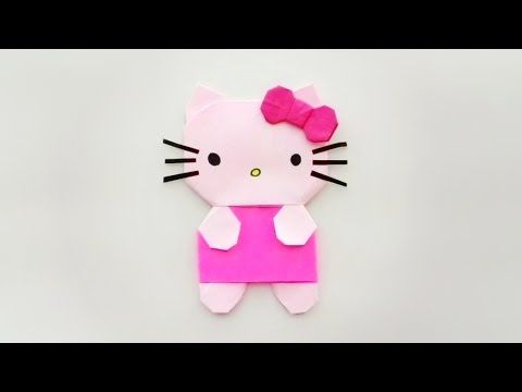 Photo of Origami hello kitty / พับกระดาษ แมวเฮลโล คิตตี้ ハローキティ