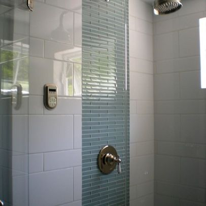 """""""white tile"""" bath design ideas, pictures, remodel and"""