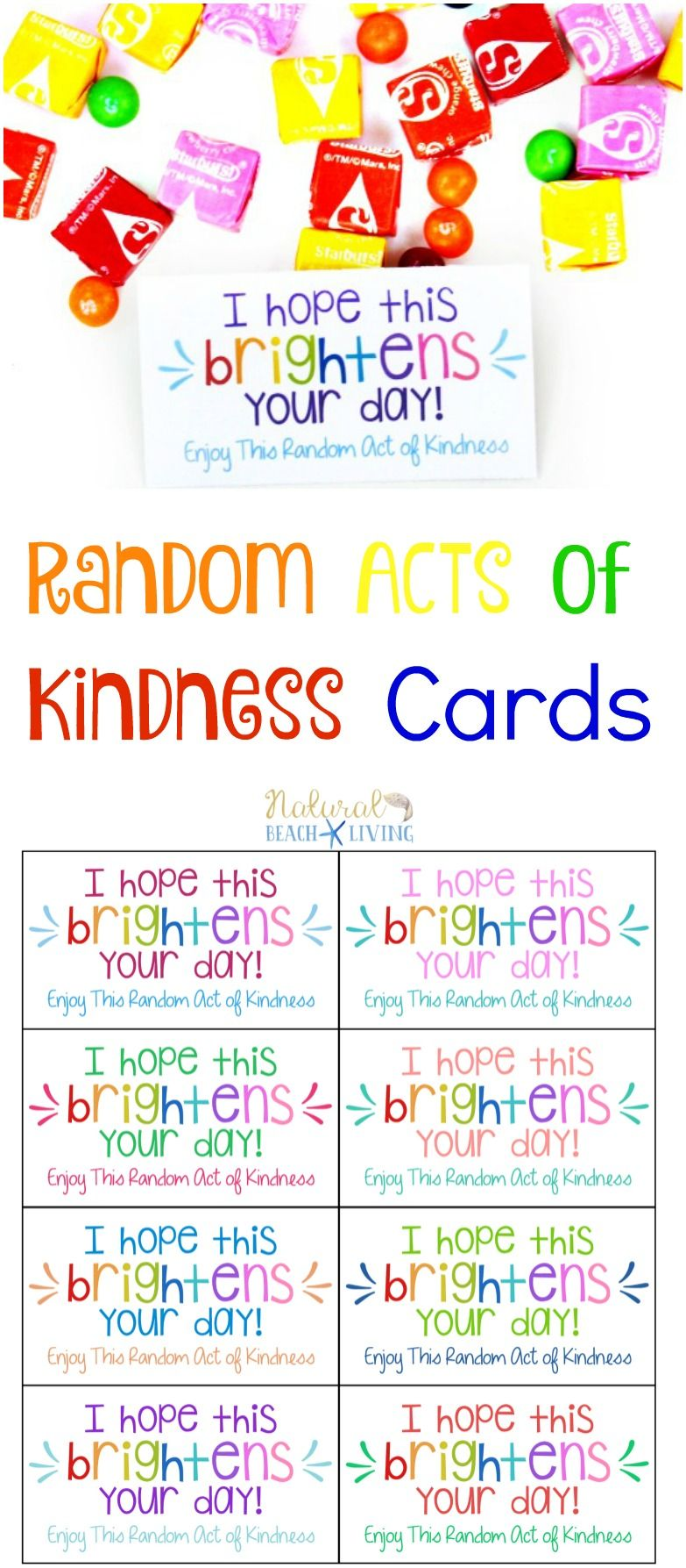 101 Of The Best Random Acts Of Kindness Ideas Kindness Gifts Kindness Notes Kindness Activities