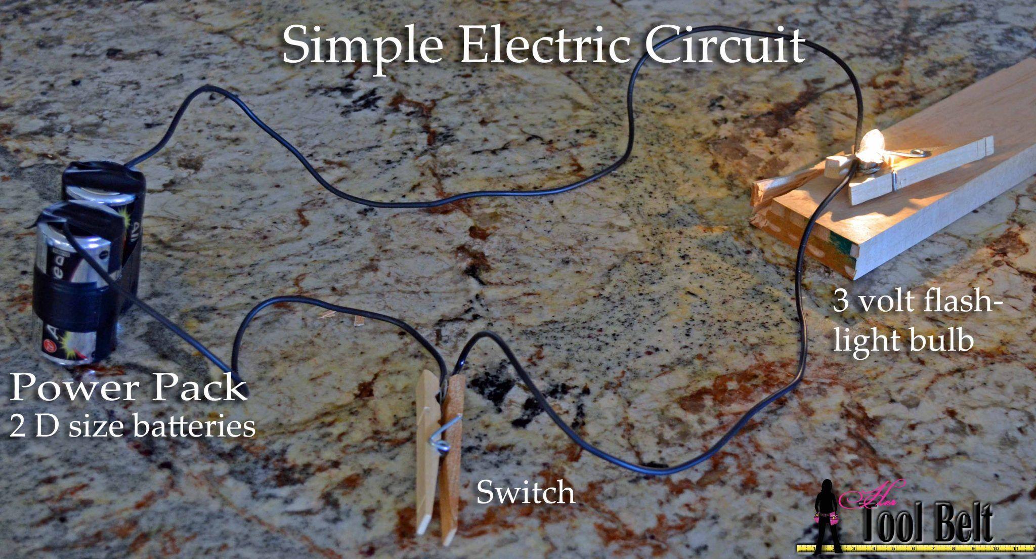 Make A Simple Electrical Circuit Webelos Engineer Or