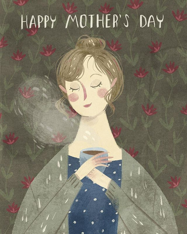 Taryn Knight  @taryndraws Happy Mother's Da...Instagram photo | Websta (Webstagram)