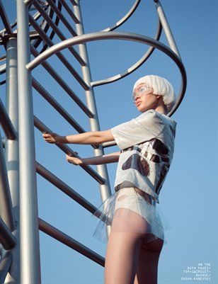"Unleash'd Magazine   Anniversary Issue ""BLCK Issue""   Style: Elena Rudenko"