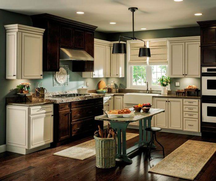 28 Antique White Kitchen Cabinets Ideas In 2019: Aristokraft Overton Kitchen Cabinet Door Style. PureStyle