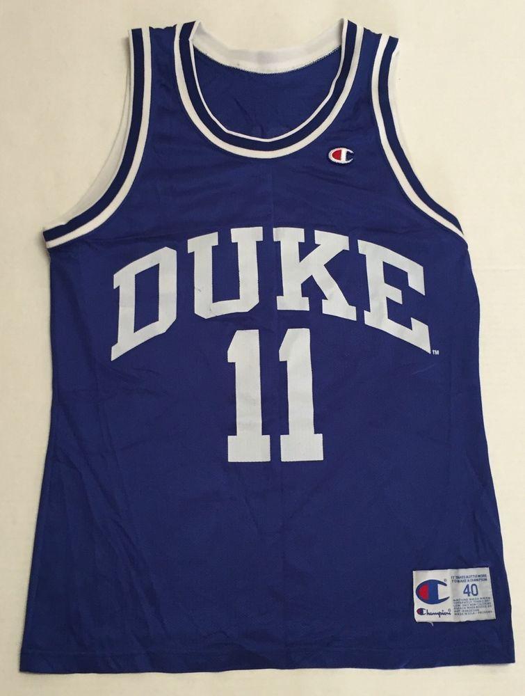 10ed27de06c Vtg Duke Blue Devils Basketball Jersey Bobby Hurley 90s Champion Size 40  USA | eBay #champion #90s #1990s #basketballjersey #basketball #jersey  #bobbyhurley ...