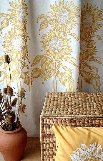 Sunflower Stencils Large Sunflower design | favorite things | Pinterest