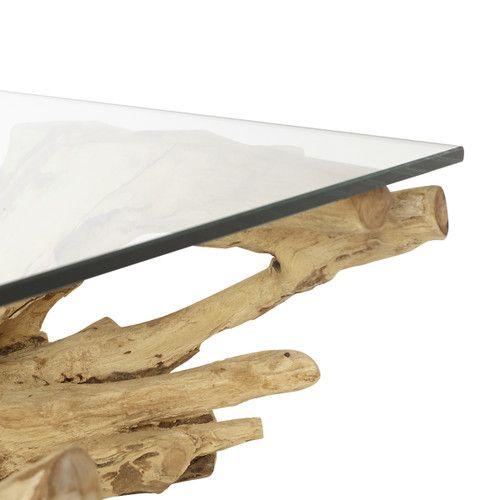 Teak Root Coffee Table | Teak, Table, Teak wood