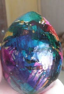 How To Decorate Paper Mache Easter Eggs Creating Paper Mache