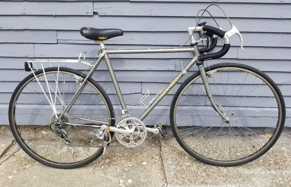 10ebfdc6764 1984 Trek 620 Touring Road Bike Reynlds 531 Lugged Steel Cantilever Brakes  52cm #Trek