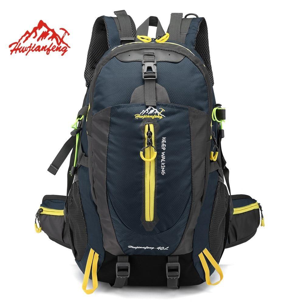 40L Outdoor Camping Hiking Sports Backpack Trekking Climbing Travel Rucksack Bag