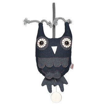 Owl Hendrik With Music Box, $21, now featured on Fab.