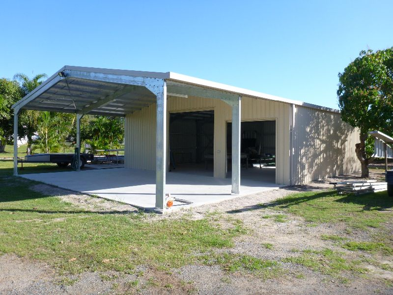 Carports, Sheds and garages gallery. View photos of some