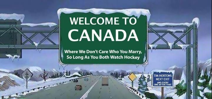 to Canada! Canadian things, Canada memes