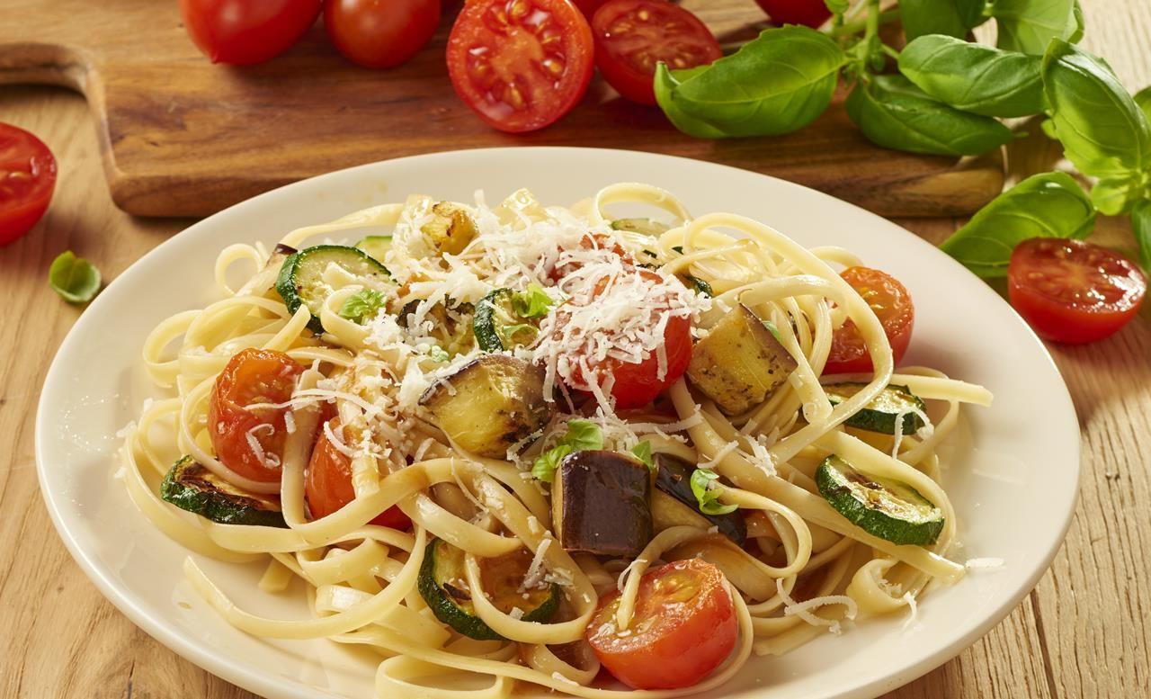 Grillgemüse mit Linguine | Knorr
