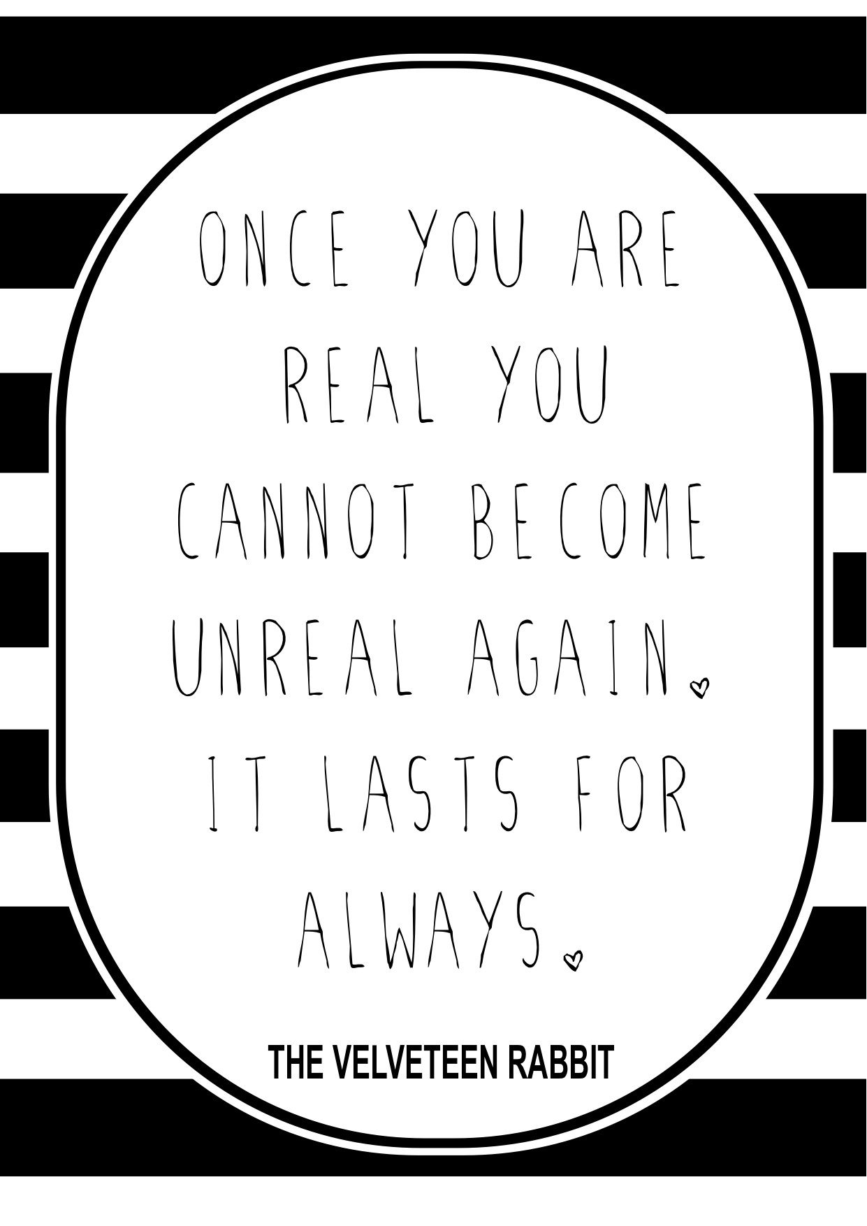 velveteen rabbit quote | d e s i g n s | The velveteen ...
