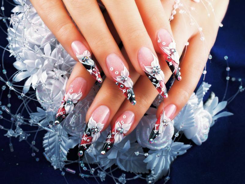 airbrushed nails - Airbrushed Nails !♥ Nail Designs Gallery ♥! Pinterest