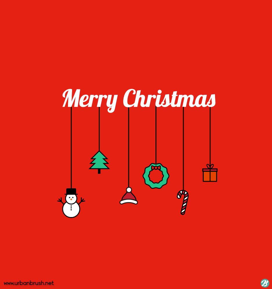 크리스마스 장식 일러스트 Ai 무료다운로드 Free Christmas Decorations Vector Urbanbrush 크리스마스 카드 크리스마스 장식 크리스마스