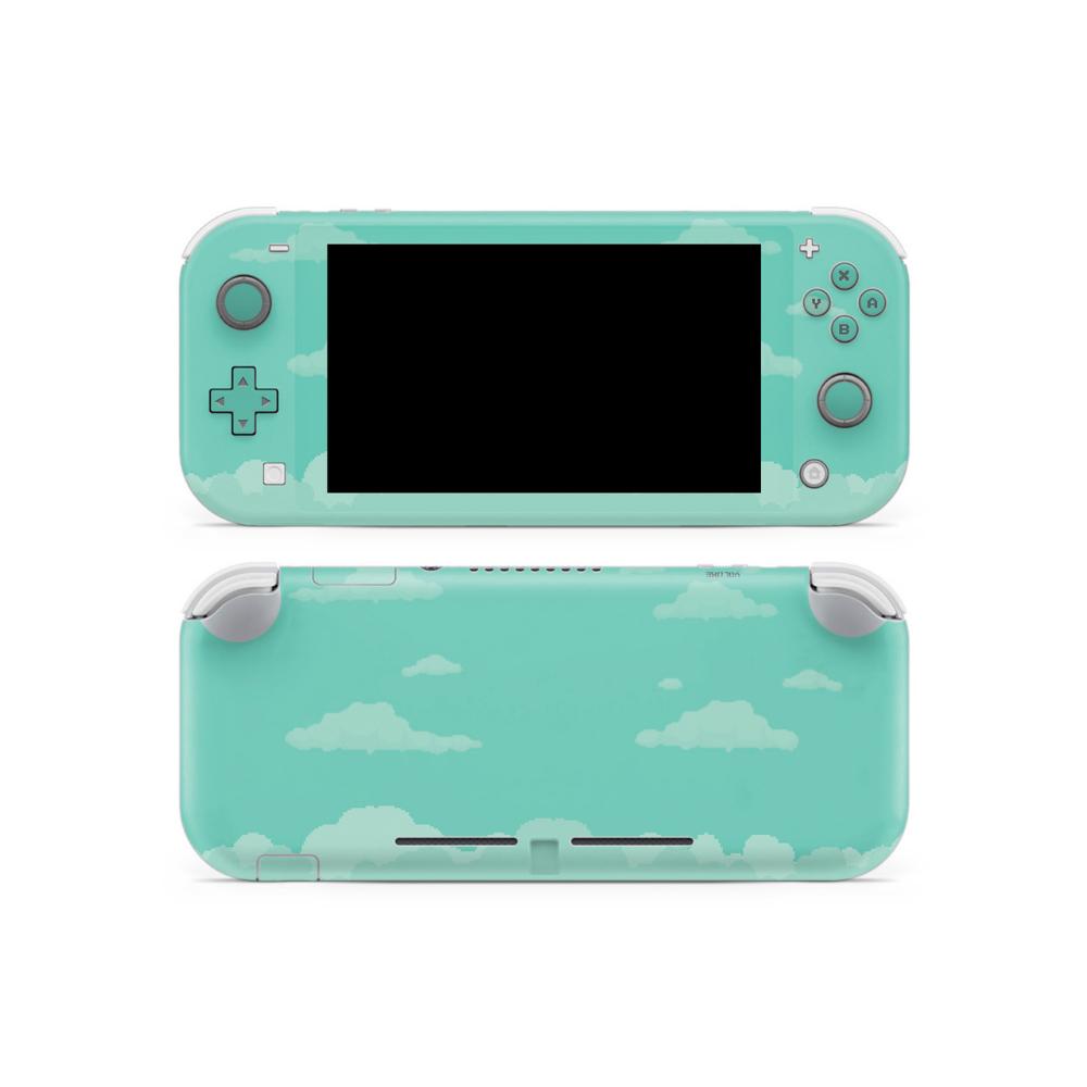 8 Bit Pastel Neptune Clouds Switch Lite Skin Nintendo Switch
