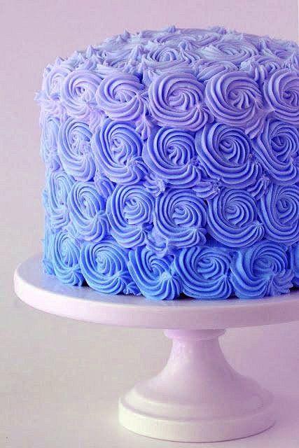 Periwinkle cake