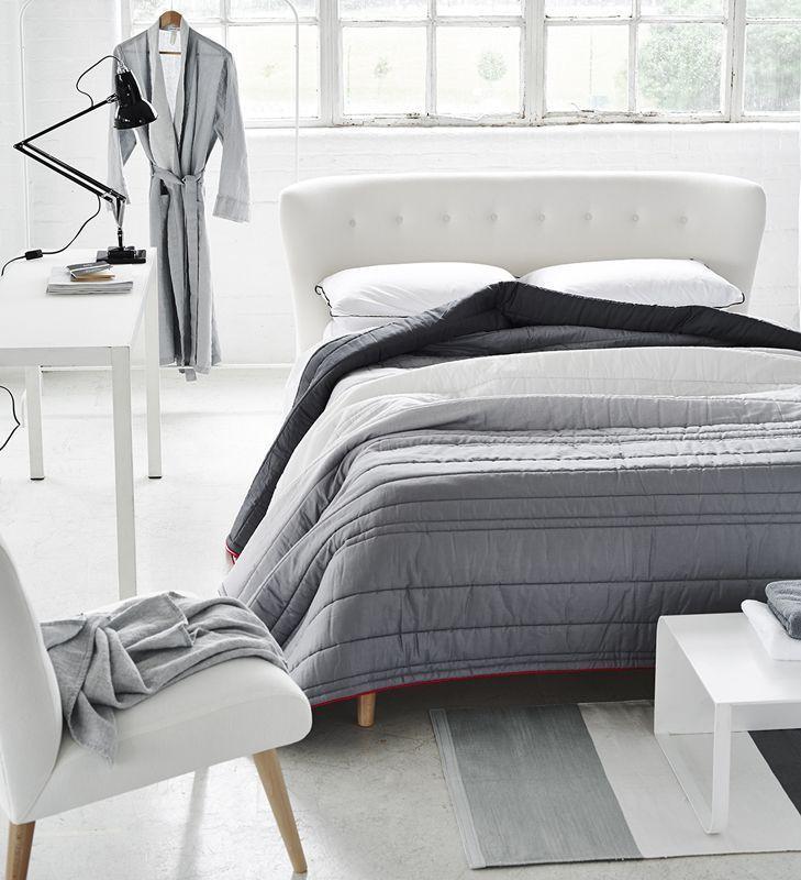 couvre lit designers guild Couvre lit Mirano Quilt satin de coton 260x240 | Designers guild  couvre lit designers guild