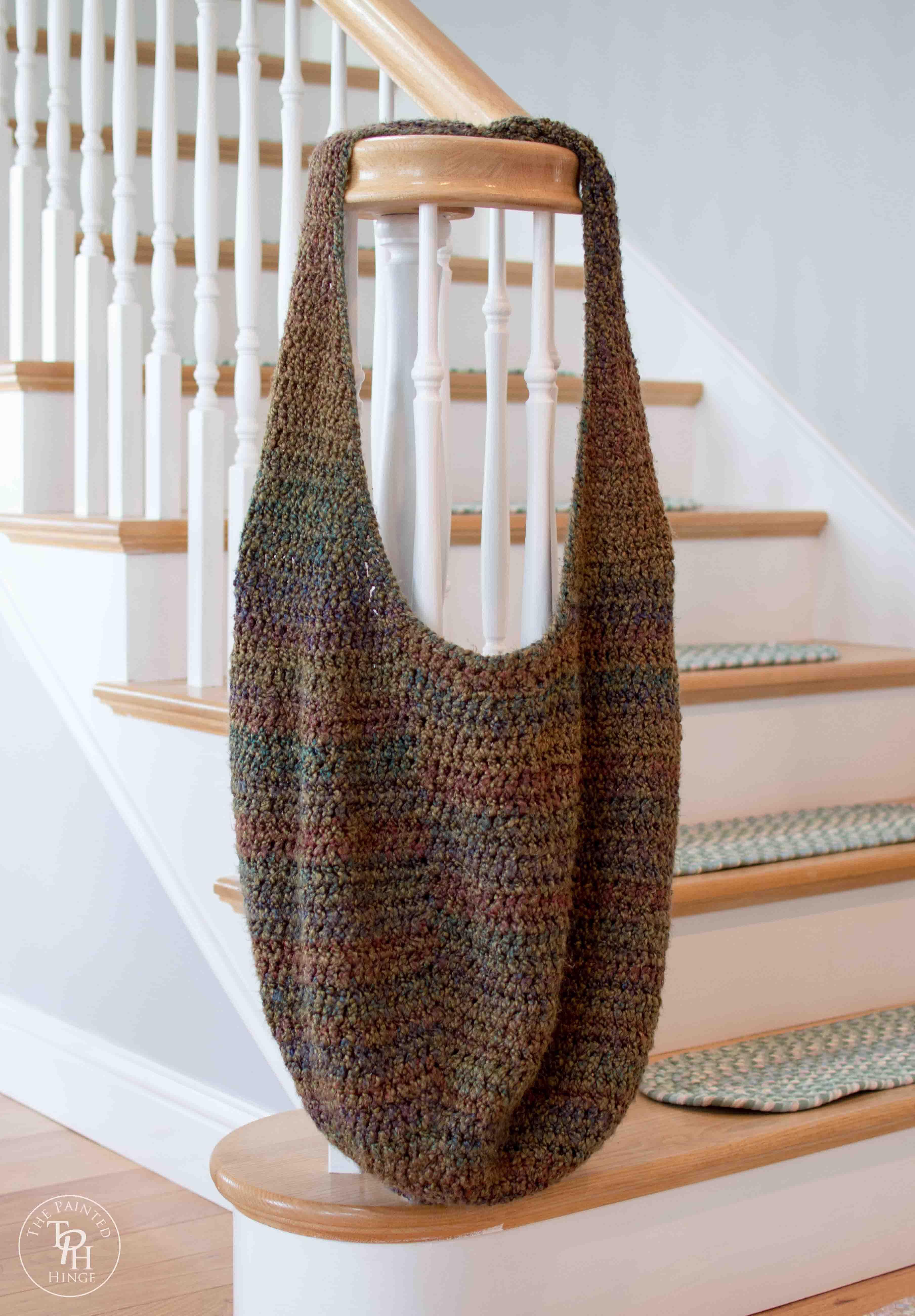 Extra Large Market Bag Free Crochet Pattern   Bolsos de tela, Bolsos ...
