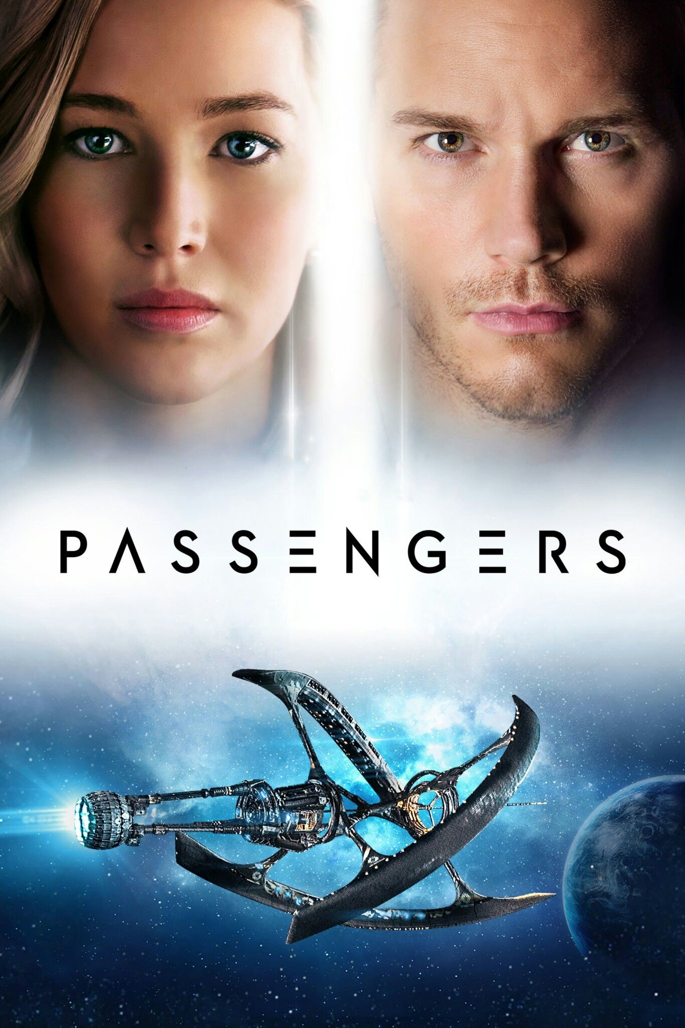 Passengers Movie Poster Fantastic Movie Posters Scifi Movie Posters