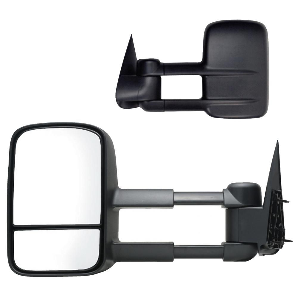 For 03-06 Chevy Silverado Suburban Tahoe GMC Sierra Yukon Pickup Truck Extending Power Heated Tow Mirrors w//Smoked Signal
