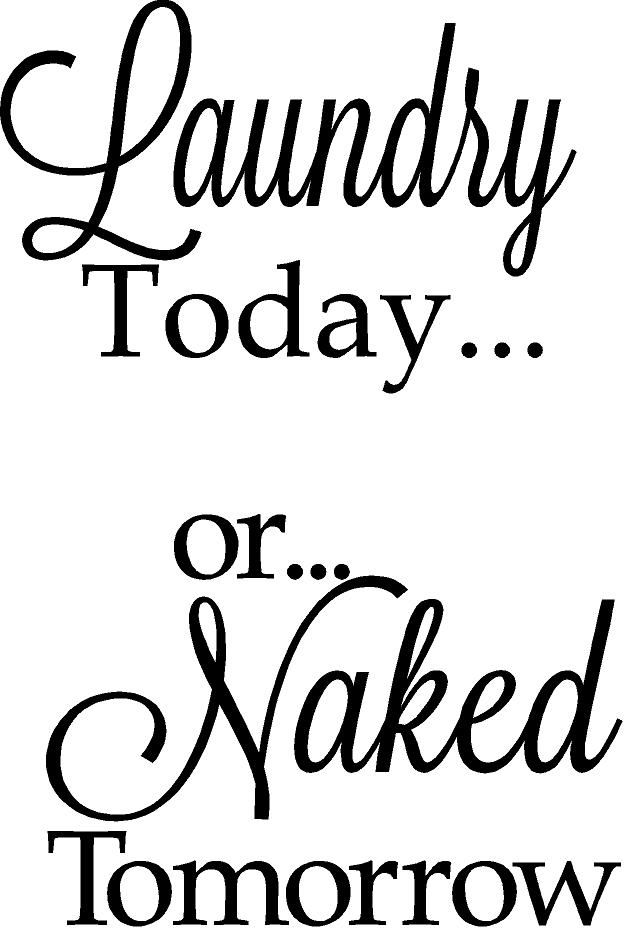 Laundry today or naked tomorrow picture 100