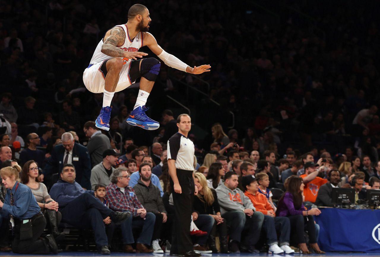 Tyson Chandler New york knicks, Basketball news, Ny knicks