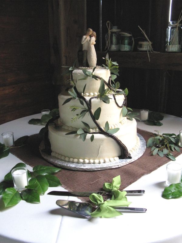 Rustic Tree Of Life Cake Art Wedding Cakes Birch