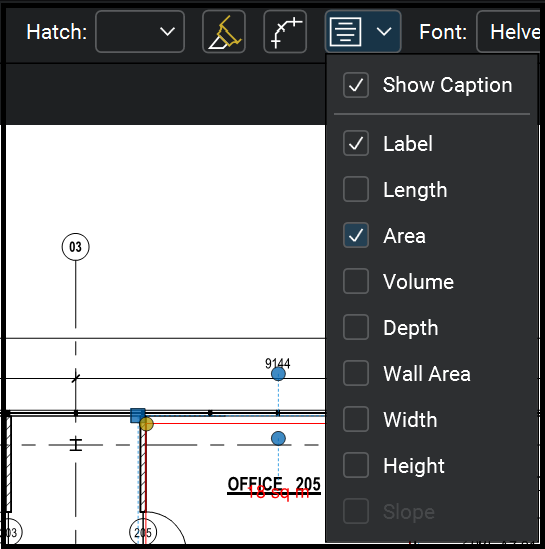 Bluebeam 2018 Tip: Now from Properties Toolbar you can toggle the