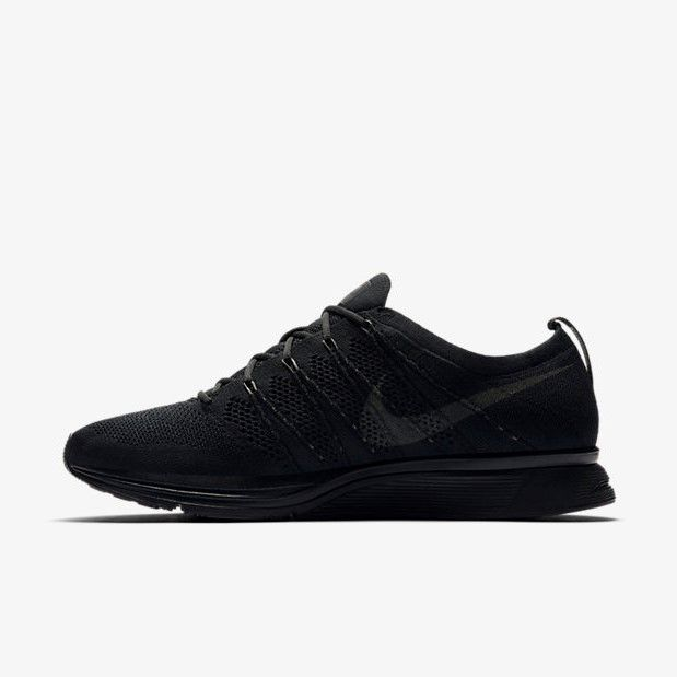 Nike Flyknit Trainer Triple Black Anthracite Men Running Shoe Sneaker AH8396004