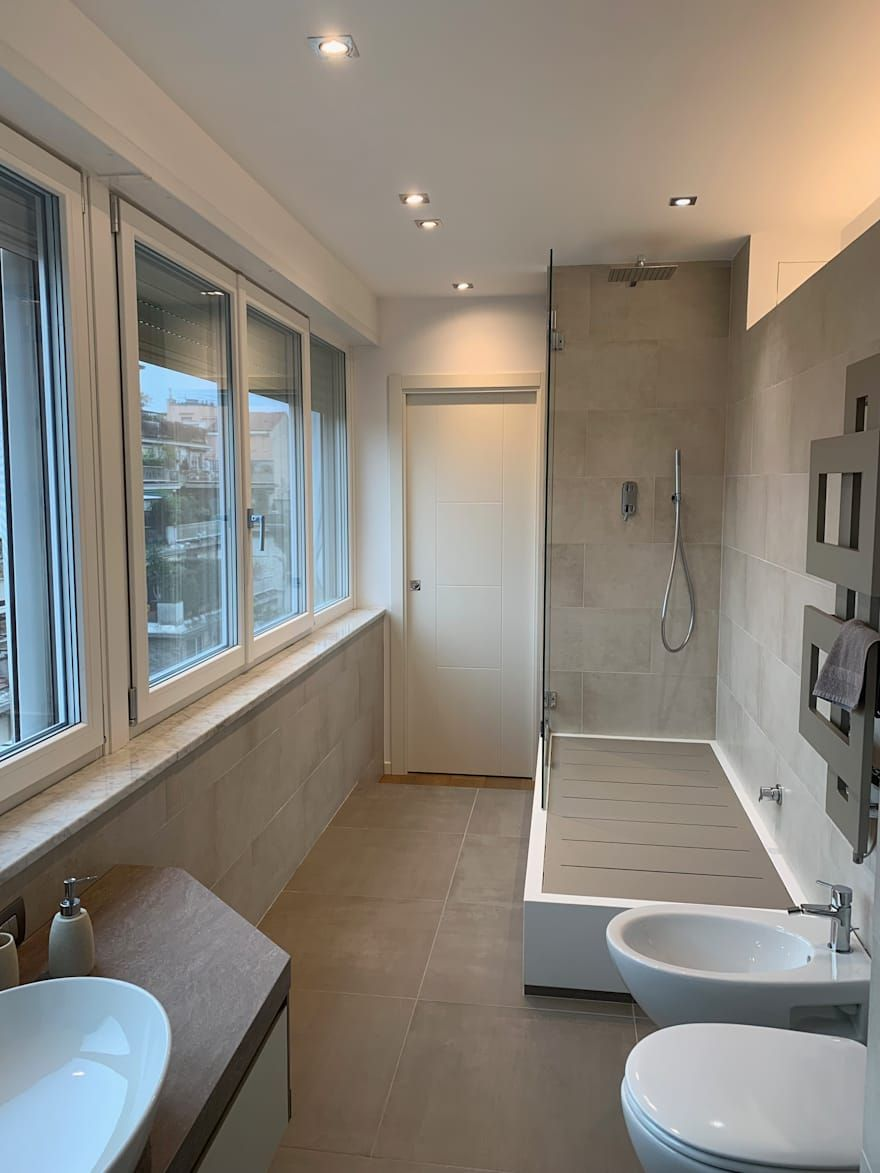 Bagno Moderno Interior Design, Idee e Foto l Bagni