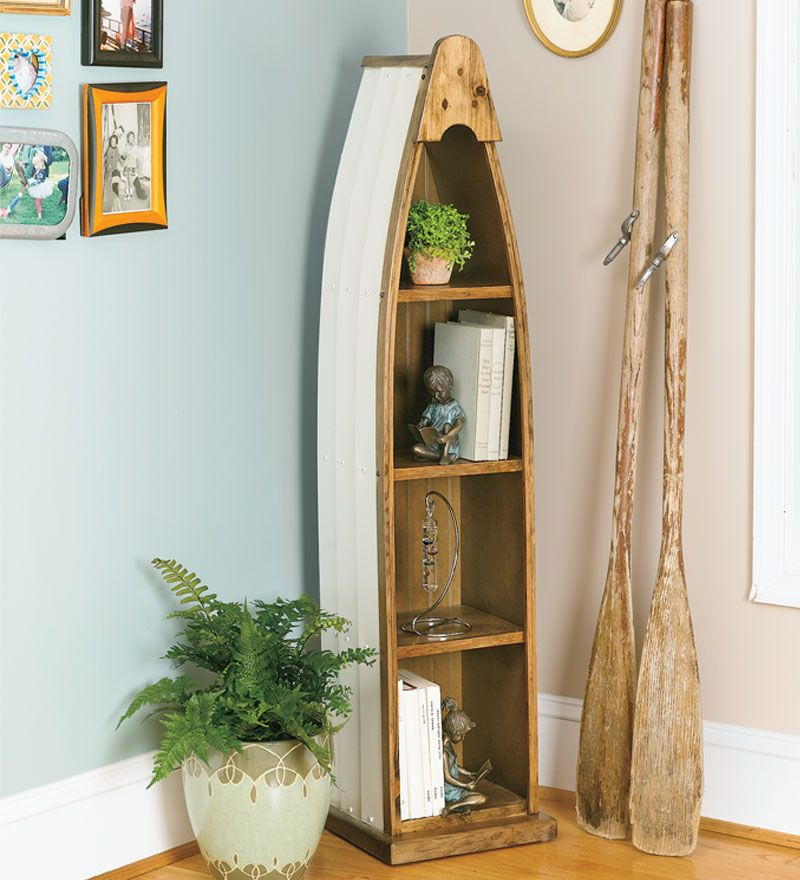 Accent Furniture · Canoe Shelf Cabinet