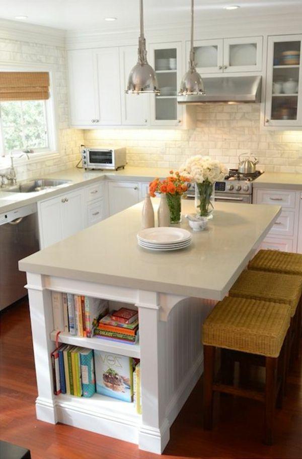 La Cuisine Avec îlot Central Idées De Décoration Et Design - Carrelage original pour cuisine pour idees de deco de cuisine