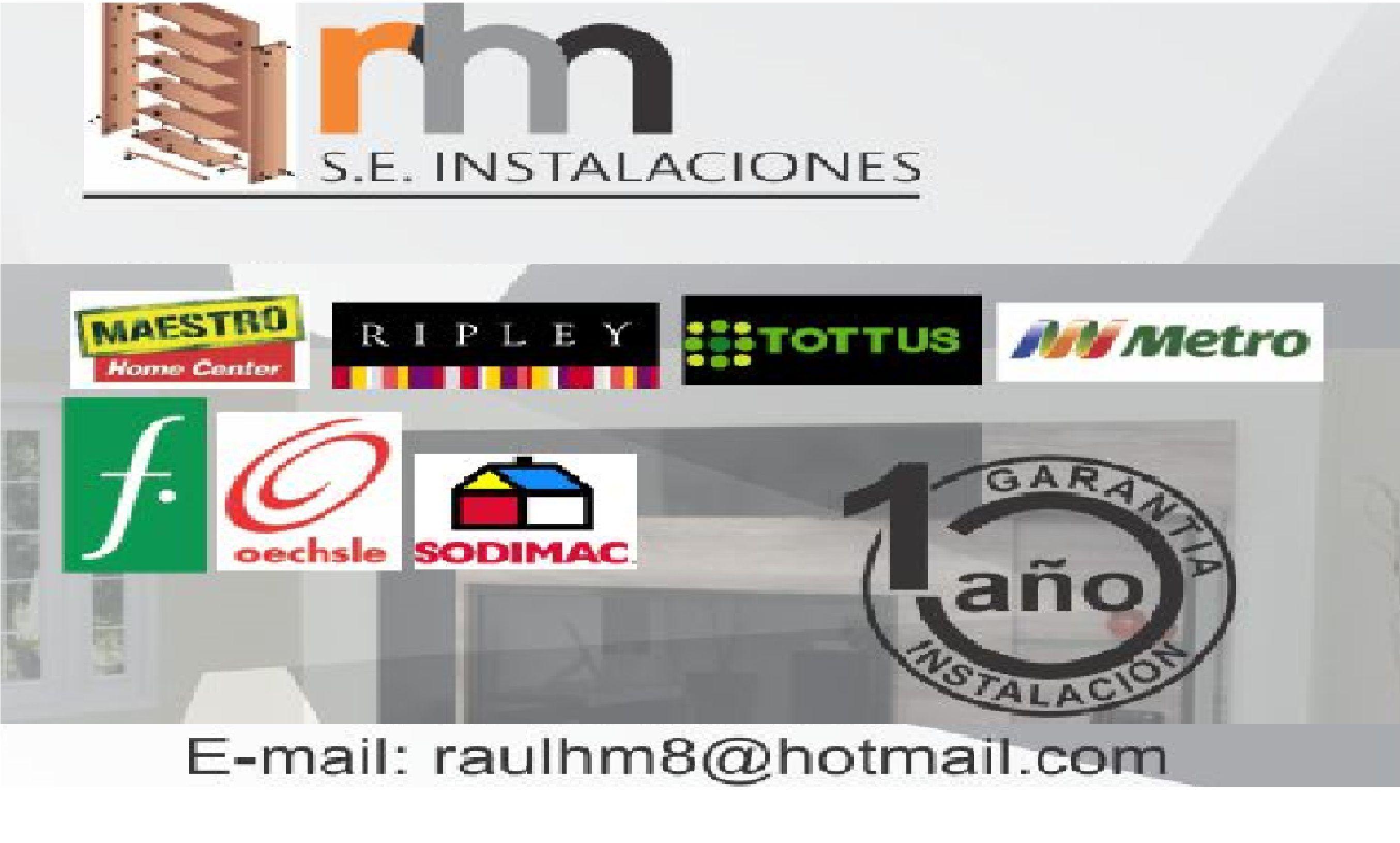 S E Instalaciones Rhm Realizamos Servicios De Armado Y Desarmado  # Muebles Maestro