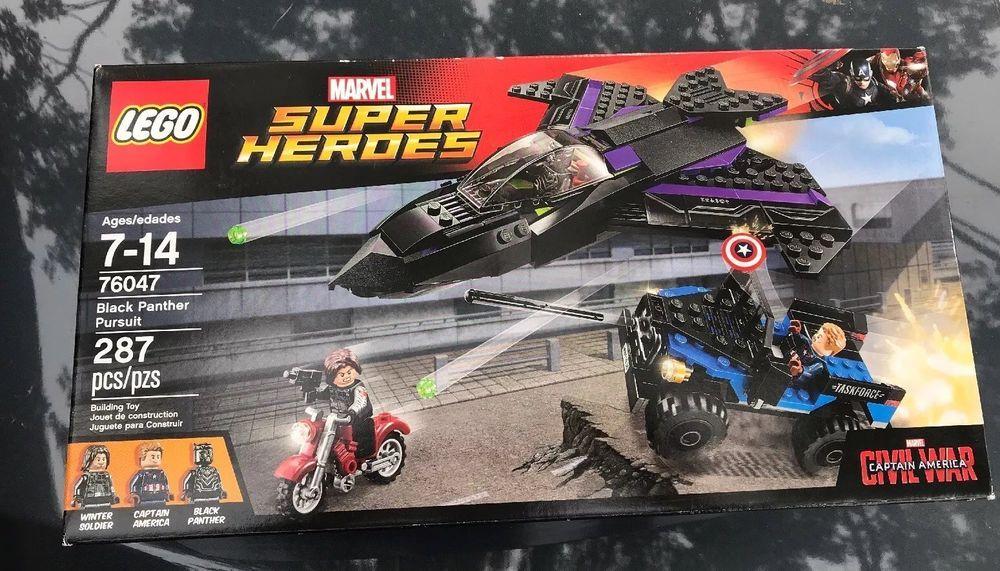 LEGO Marvel Captain America Civil War Black Panther Pursuit