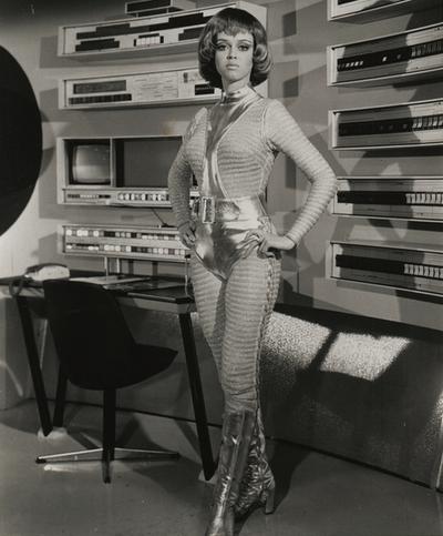 Gabrielle Drake, in Gerry Anderson's UFO (1970). Lieutenant Gay Ellis: CO of SHADO´s Moonbase!