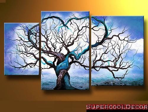 amazoncom modern oil painting on canvas stretched framed on wooden frame origin - Wood Frames For Canvas Paintings