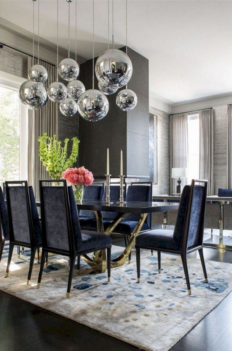 13+ Awesome Dining Room Lighting Ideas for Big Family