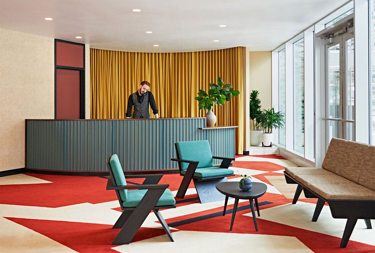 commune transforms a 1960s bank into the durham hotel in north carolina yellowtrace
