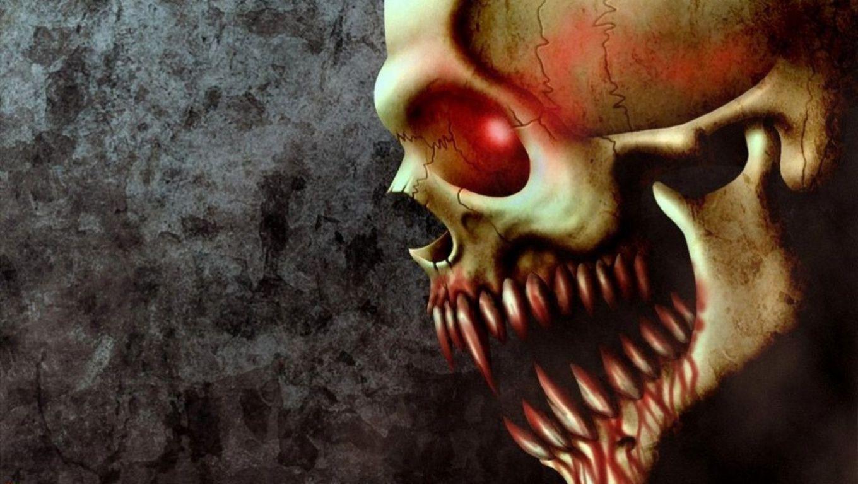 cool skull pictures VAMPIRE SKULL by GHSTMAN  SKULLS