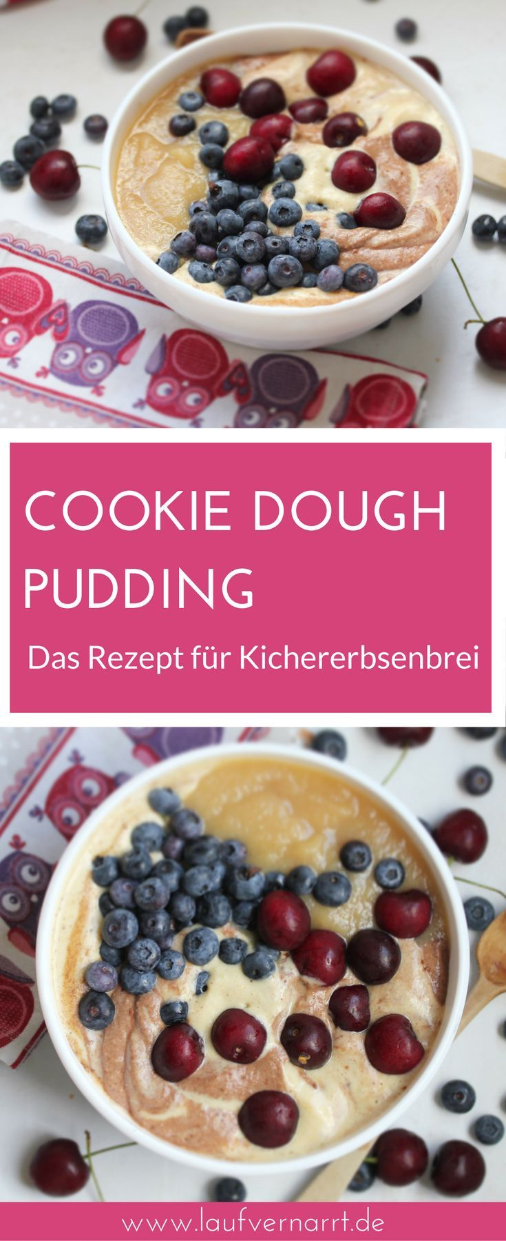 cookie dough pudding s er kichererbsenbrei fr hst ck rezepte deutsch pinterest gesunde. Black Bedroom Furniture Sets. Home Design Ideas