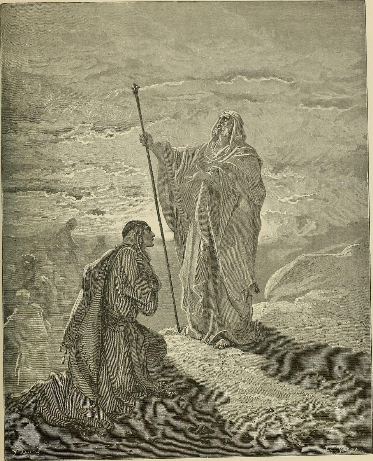 Gustave Doré's illustrations for La Grande Bible de Tours