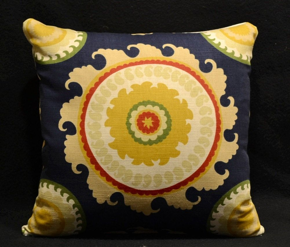 Decorative pillows throw pillows pillow covers navy blue pillow