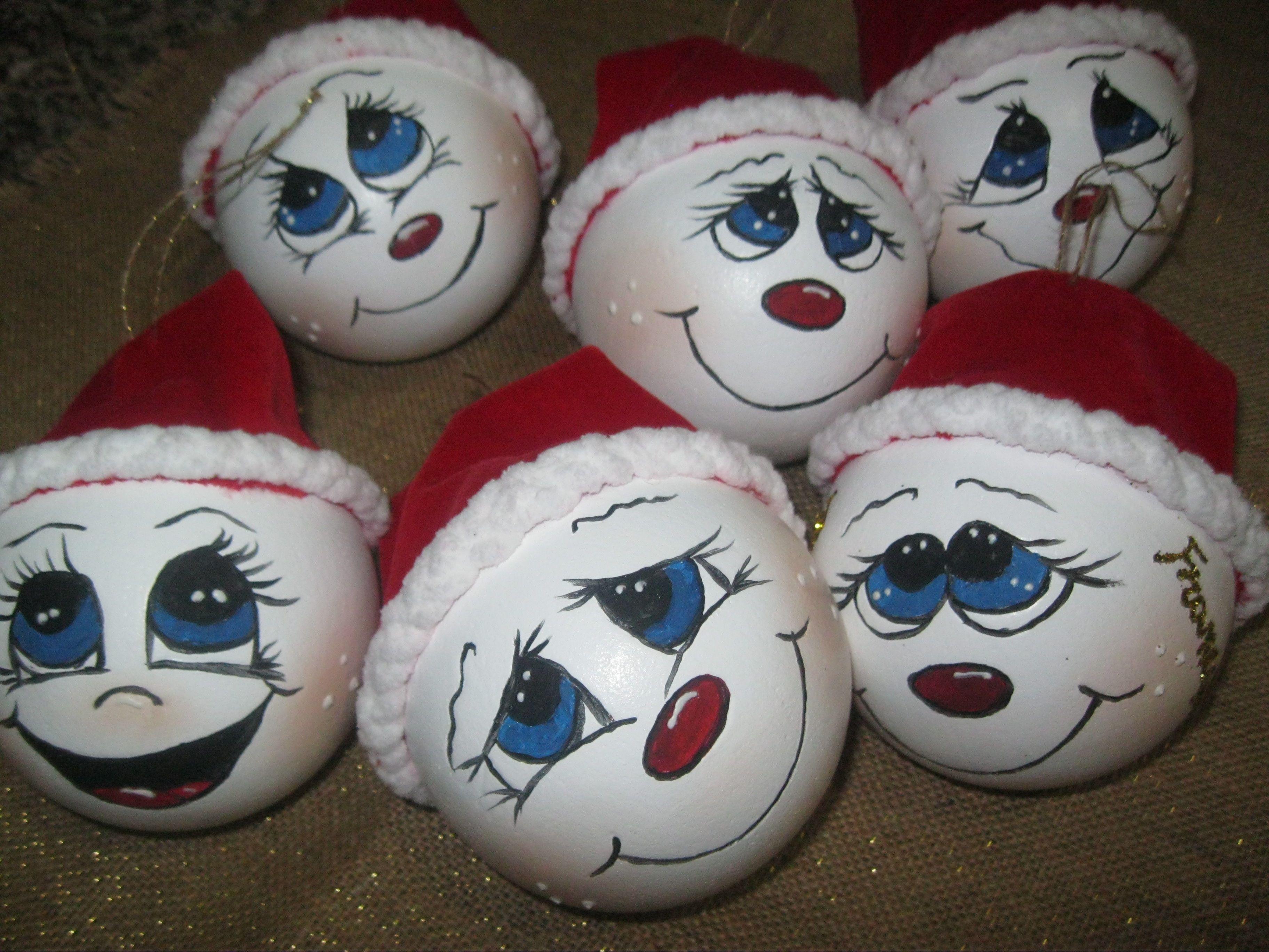palle di neve animate