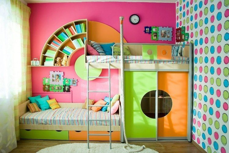 105 idées d\'aménagement pour une chambre d\'enfant ! | Amenagement ...