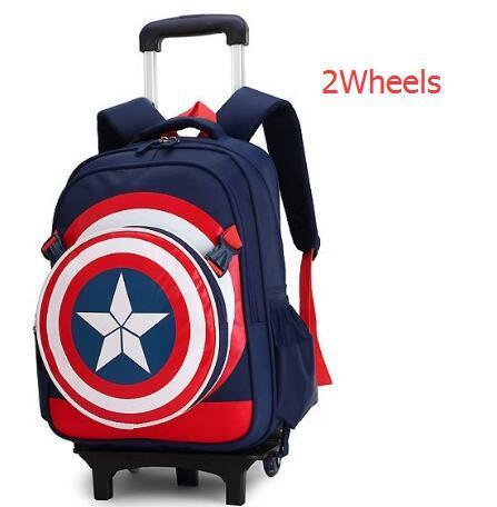 8d63de4f75 Travel Luggage Bags for Kid Boy s Trolley School Backpack Wheeled Bag for  School Trolley Bag