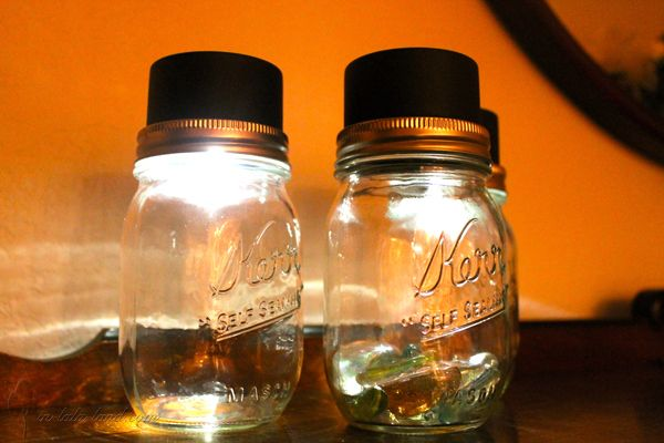 Mason Jar Patio Lights Jars